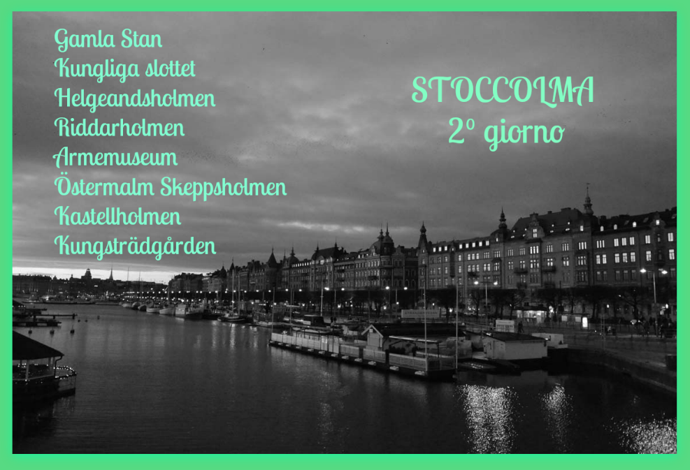 Stoccolma Stockholm giorno 2