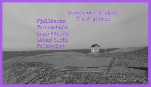 Svezia Fjallbacka Tanumshede Lago Vanern Lacko slott Falkoping
