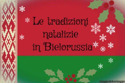 Tradizioni ortodosse natalizie della bielorussia