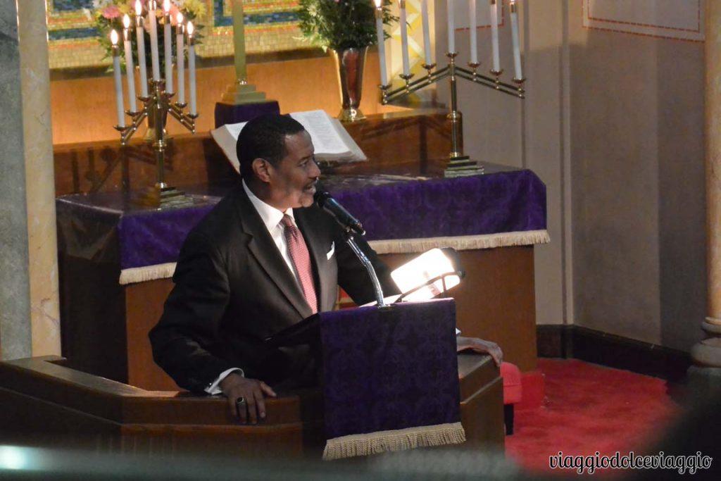 Messa gospel ad Harlem