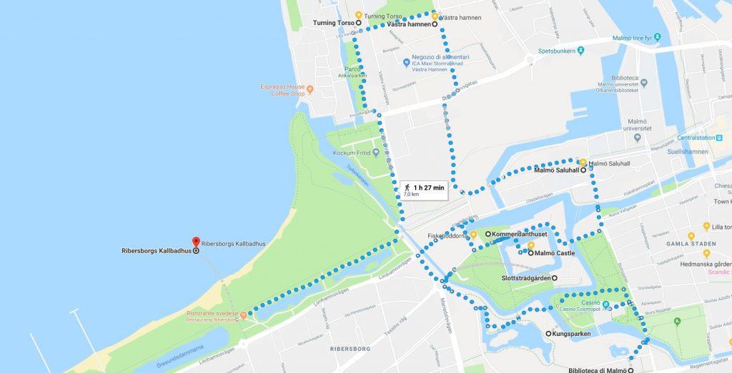 Secondo itinerario di Malmo, Svezia