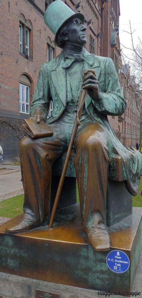 Statua d Hans Christian Andersen, Copenhagen