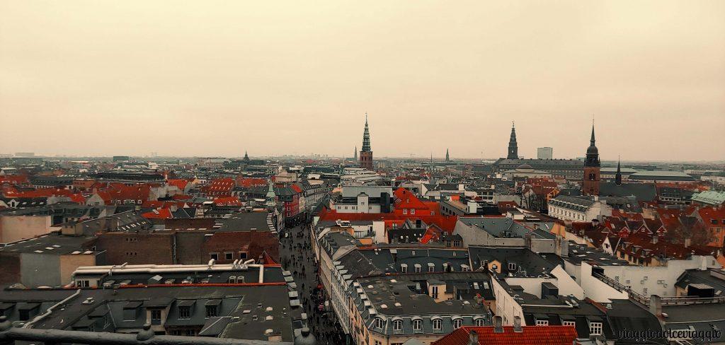 Panorama dalla RUNDETÅRN, Copenhagen