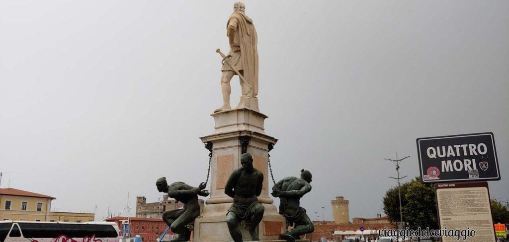 Livorno, i quattro mori