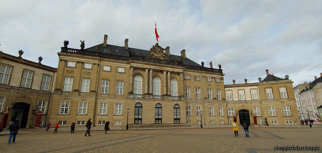 Amalienborg Slot, a Copenahgen