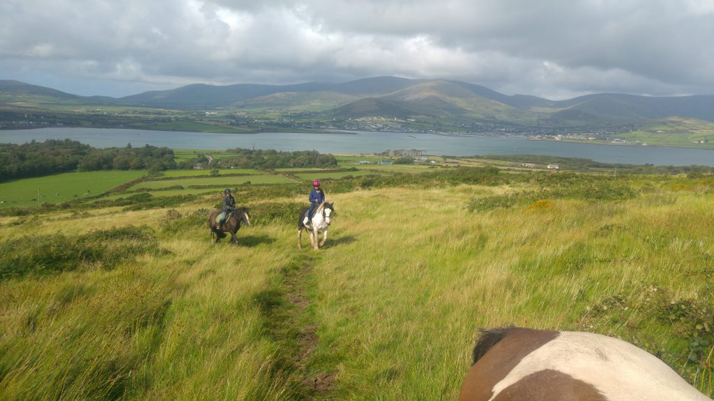 penisola di Dingle a cavallo, Irlanda