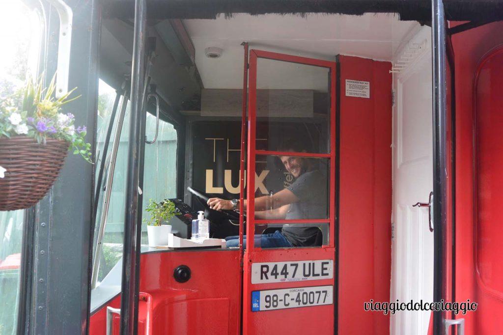 Lux bus, Cobh, Irlanda, sistemazioni insolite