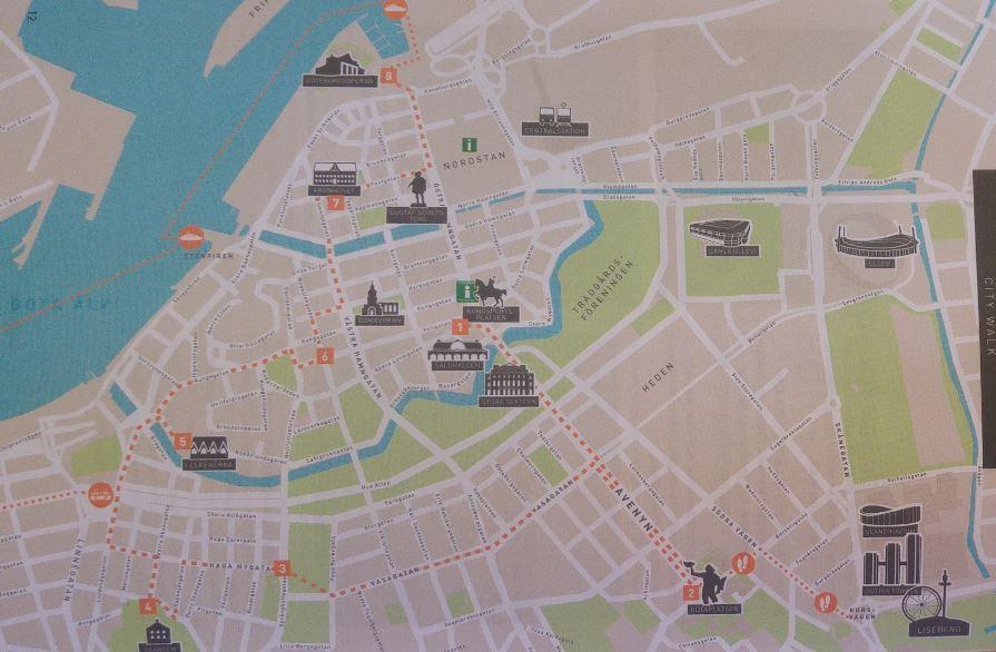 Goteborg Map Depliant