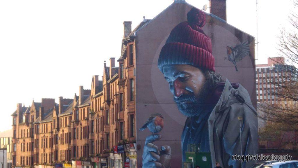 Murales dedicato a san mungo, Glasgow