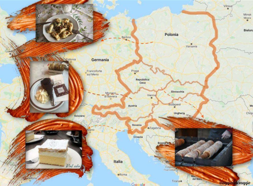 dolci dell'europa dell'est